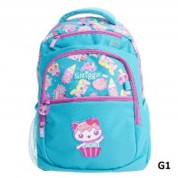Smiggle School Backpack Light Blue