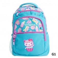 Smiggle School Backpack Light Blue